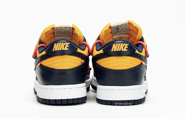 Off-White Nike Dunk Low Yellow Toe CT0856-700 05