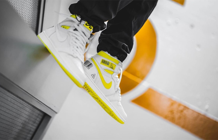 On Foot Look At The Jordan 1 First Class Flight ft