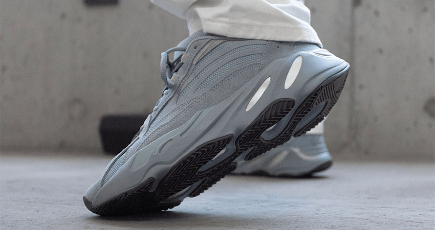 On Foot Look At The Yeezy 700 V2 'Hospital Blue' 01