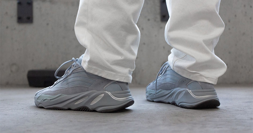 On Foot Look At The Yeezy 700 V2 'Hospital Blue' 02