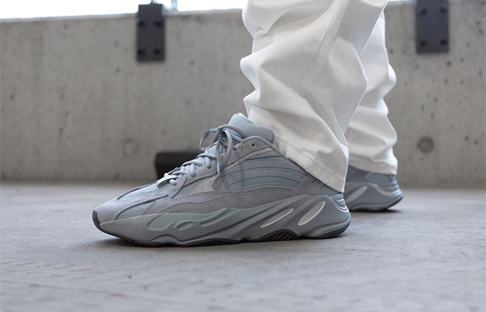 On Foot Look At The Yeezy 700 V2 'Hospital Blue' ft