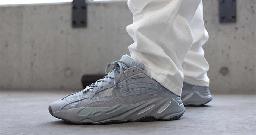 On Foot Look At The Yeezy 700 V2 'Hospital Blue'