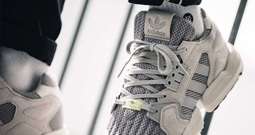 On Foot Look At The adidas ZX Torsion Grey 02
