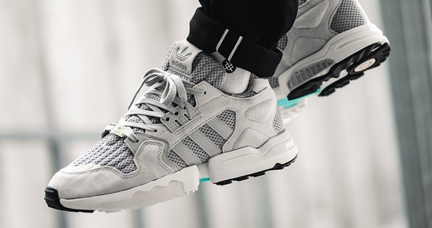 On Foot Look At The adidas ZX Torsion Grey