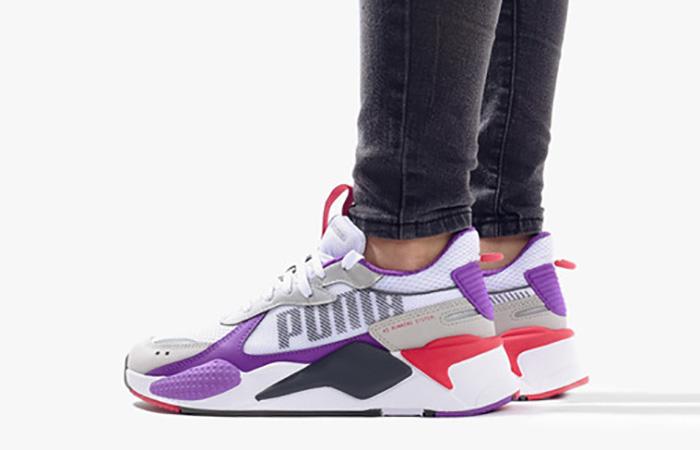PUMA RS-X Bold White Purple