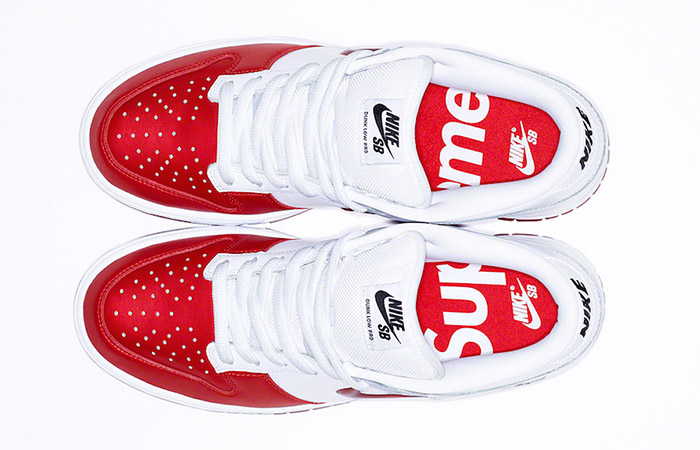 Supreme Nike SB Dunk Red White CK3480-600 04