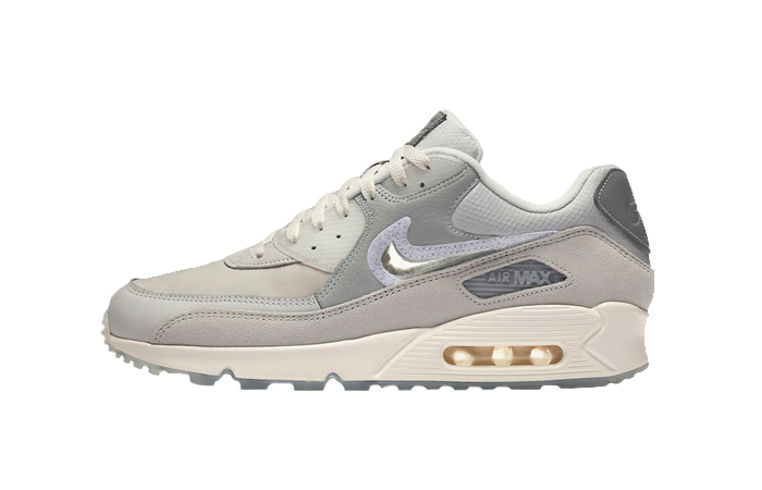 The Basement Nike Air Max 90 Metalic Silver CI9111-002 01