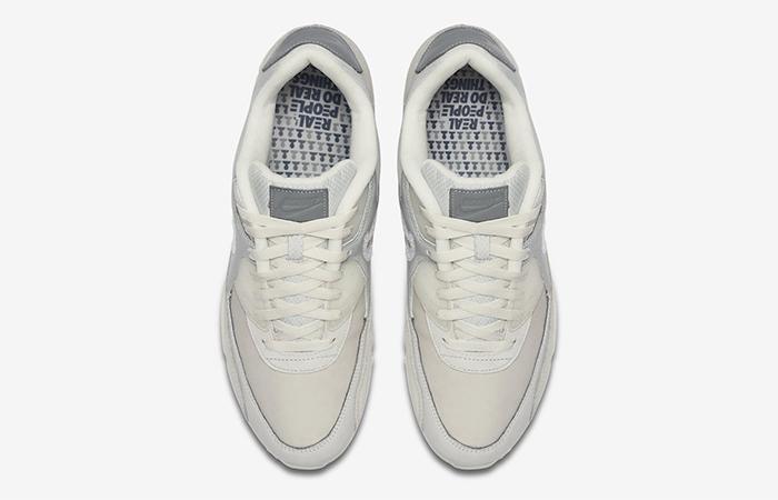 The Basement Nike Air Max 90 Metalic Silver CI9111-002 04