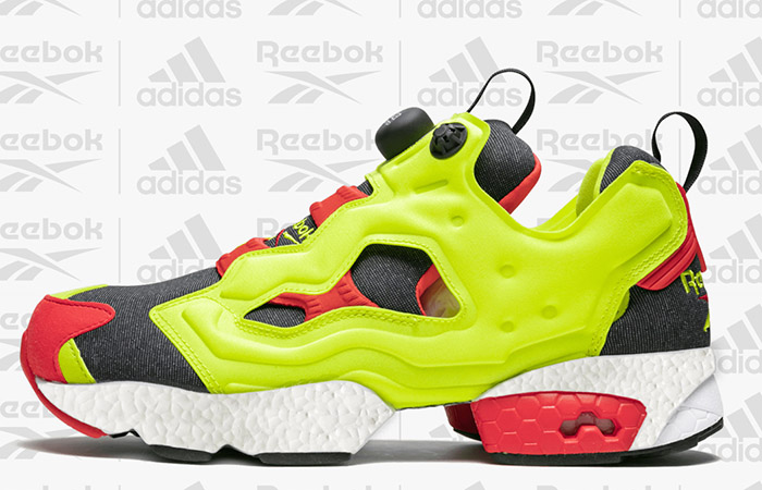 The Collaboration Of Reebok And adidas Creating A Instapump Fury Boost ft