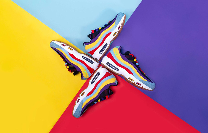 The Nike Air Max 95 SP Multi Is Soon To Be Released ft
