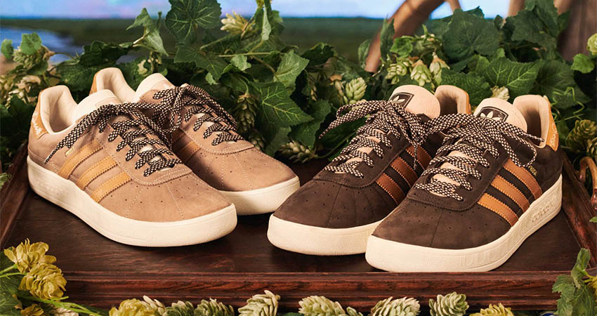The adidas Originals' Upcoming Oktoberfest Sneakers Are Textured With Beer Resistant 03