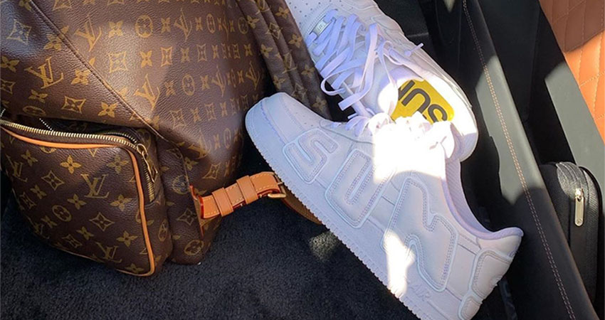 Travis Scott Reveals CPFM Nike Air Force 1 In White Colourway 01