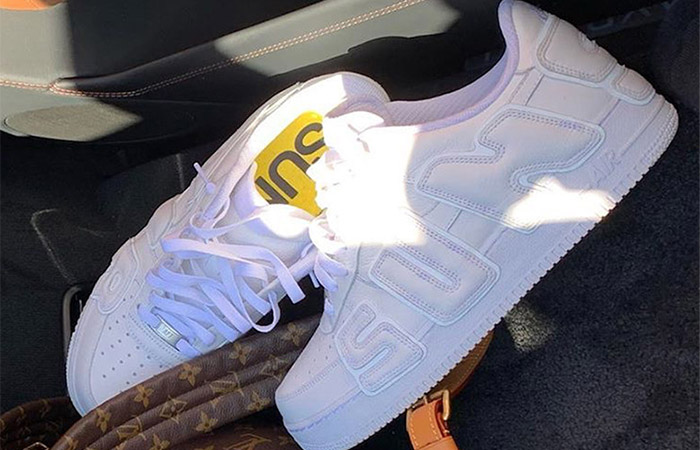 Travis Scott Reveals CPFM Nike Air Force 1 In White Colourway ft