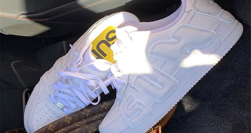 Travis Scott Reveals CPFM Nike Air Force 1 In White Colourway