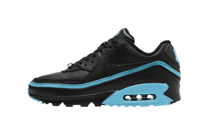 UNDEFEATED Nike Air Max 90 Black CJ7197-002 01
