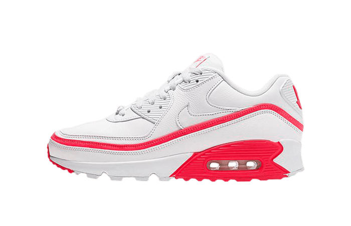 UNDEFEATED Nike Air Max 90 Red White CJ7197-103 01