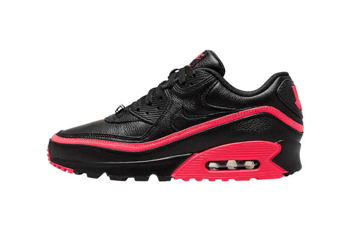 UNDEFEATED Nike Air Max 90 Solar Red CJ7197-003 01