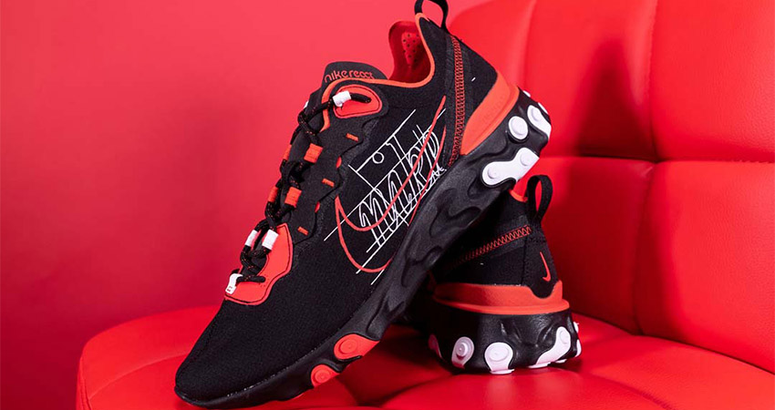 You Need To Grab At Least One Nike React Element Habanero Red 01