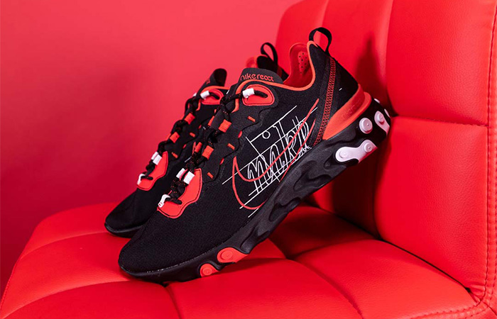 You Need To Grab At Least One Nike React Element Habanero Red ft