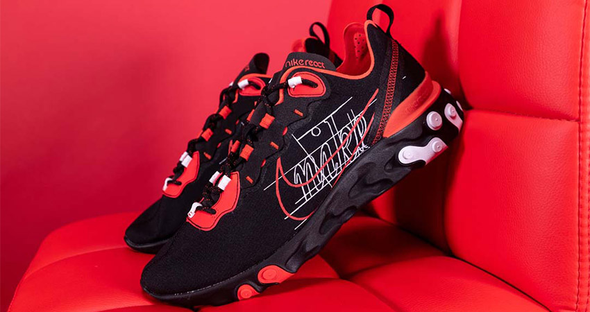 You Need To Grab At Least One Nike React Element Habanero Red