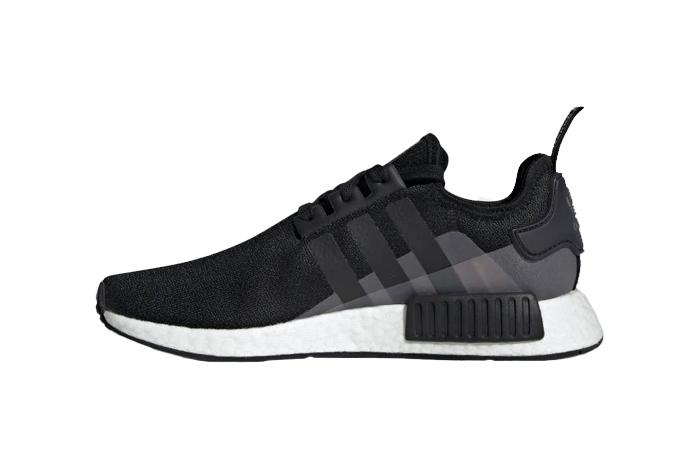 adidas NMD R1 Black And White EG73410
