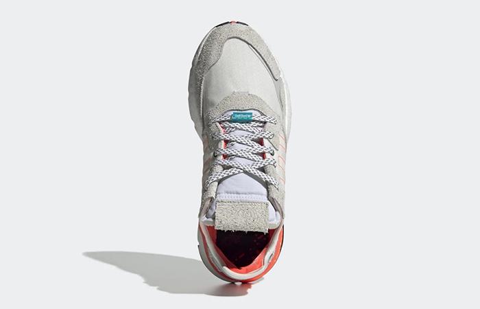 adidas Nite Jogger Big Logo Pack White Orange EH0249 04