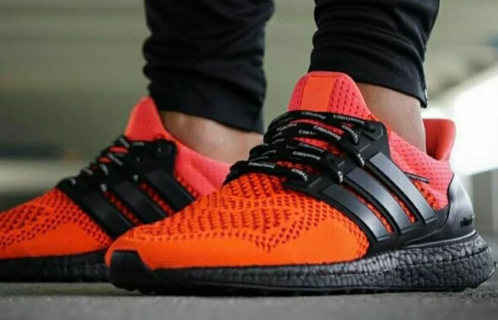 adidas Ultra Boost 1.0 Solar Red B34050 on foot 03