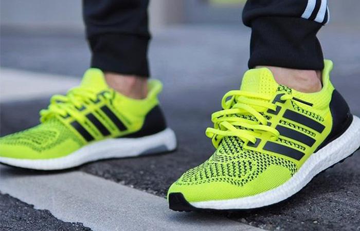 adidas Ultra Boost 1.0 Solar Yellow S77414 on foot 02