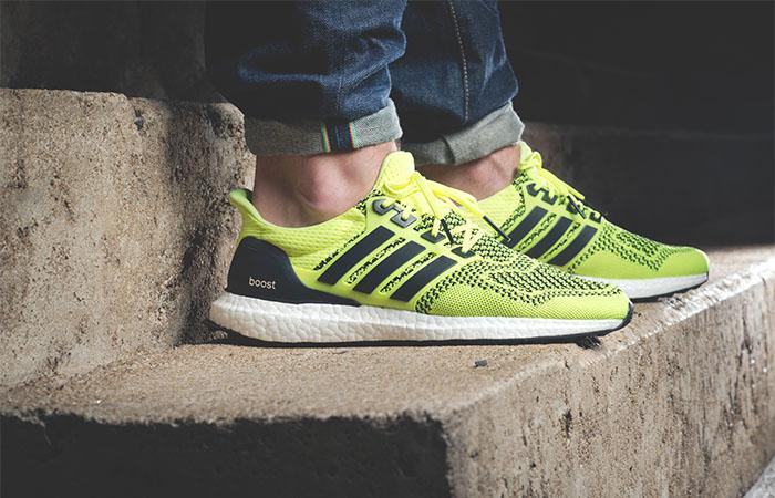 adidas Ultra Boost 1.0 Solar Yellow S77414 on foot 03