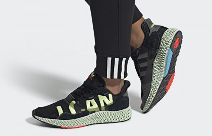 The adidas ZX 4000 4D 'I Want, I Can' is Nearly Here