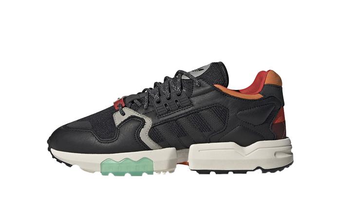 sports shoes aff7e 3caed adidas ZX Torsion Black Orange EE5553
