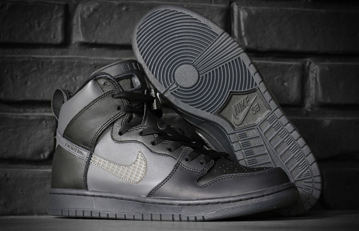 Detailed Look At The FPAR Nike SB Dunk High Black ft