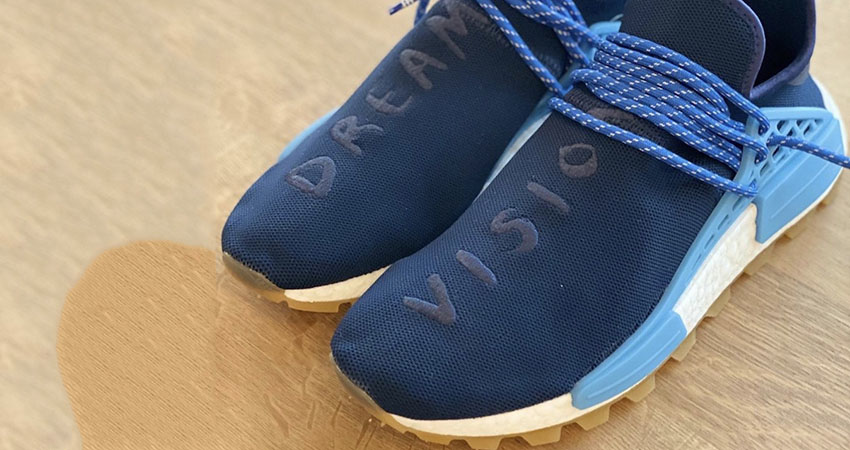 """First Look At The Pharell adidas NMD Hu """"Dreams Vision"""" and Feel Alive 01"""
