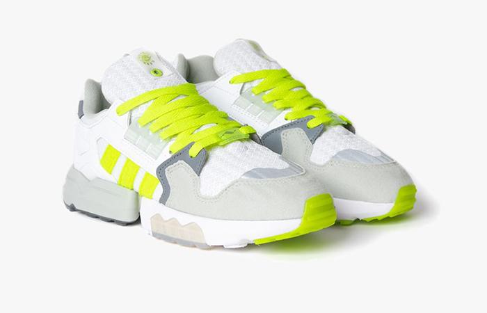 Footpatrol adidas ZX Torsion White Yellow EF7681 03