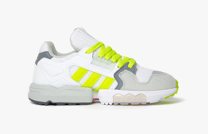 Footpatrol adidas ZX Torsion White Yellow EF7681 04