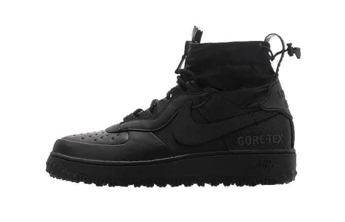 Gore-Tex Nike Air Force 1 High Black CQ7211-003 01