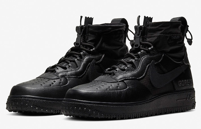 Gore-Tex Nike Air Force 1 High Black CQ7211-003 02