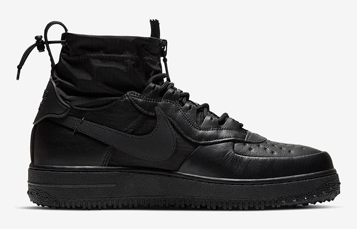 Gore-Tex Nike Air Force 1 High Black CQ7211-003 03