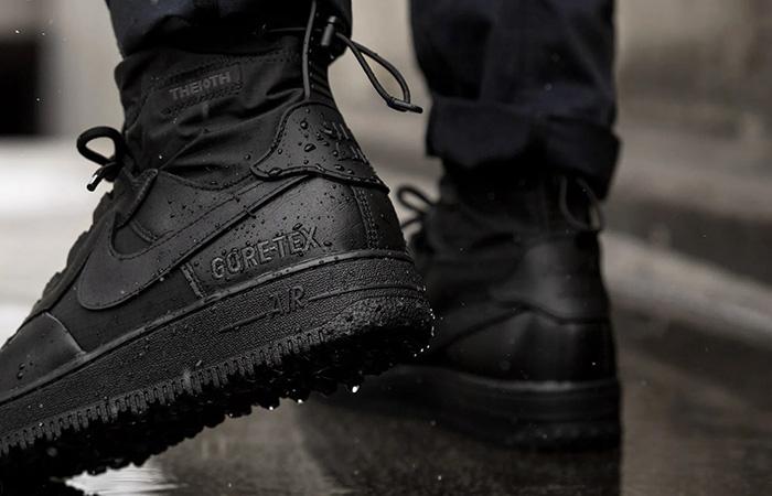 Gore-Tex Nike Air Force 1 High Black CQ7211-003 on foot 03