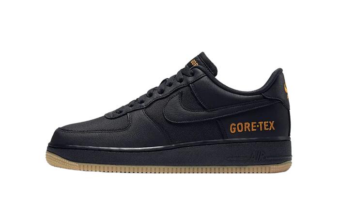 Gore-Tex Nike Air Force 1 Low Black CK2630-001 01
