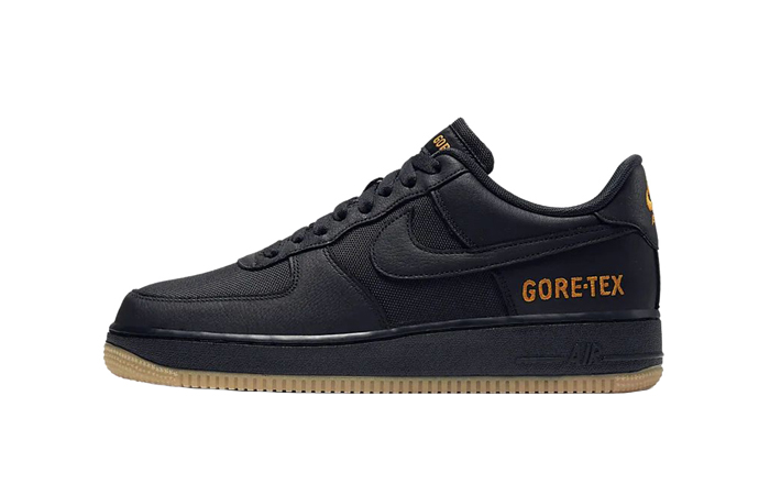 Gore-Tex Nike Air Force 1 Low Black CK2630-001 01
