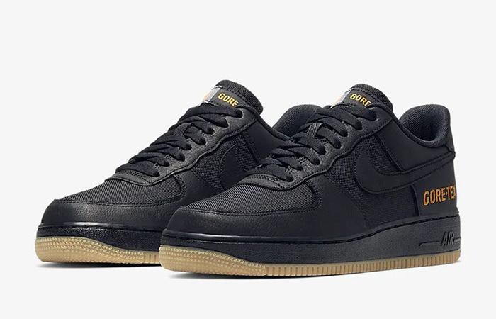 Gore-Tex Nike Air Force 1 Low Black CK2630-001 02