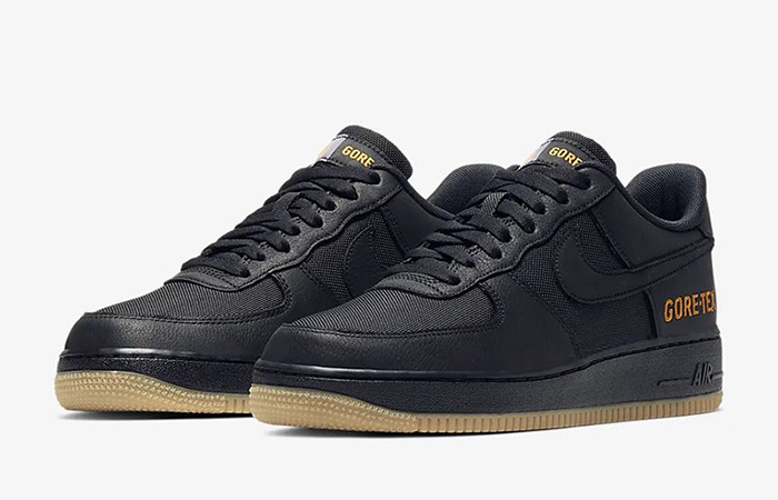 Gore-Tex Nike Air Force 1 Low Black CK2630-001 02
