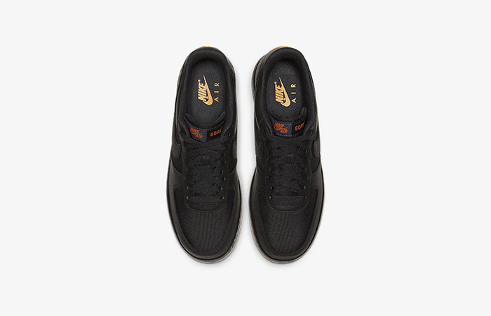 Gore-Tex Nike Air Force 1 Low Black CK2630-001 04