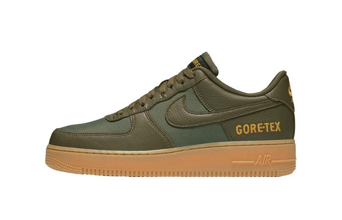 Gore-Tex Nike Air Force 1 Low Khaki CK2630-200 01