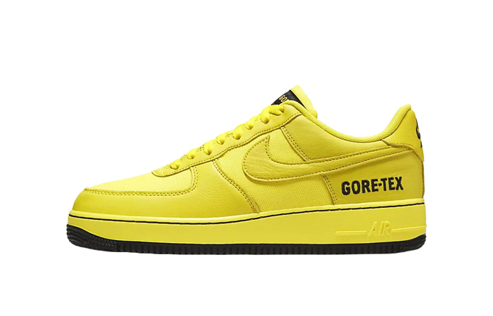 Gore-Tex Nike Air Force 1 Low Yellow CK2630-701 01