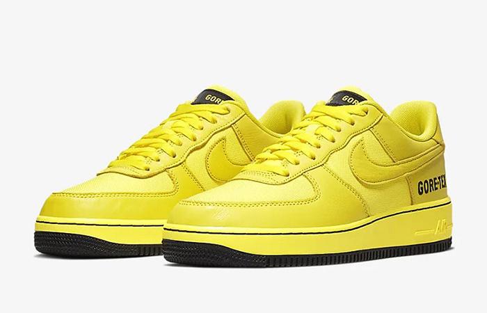 Gore-Tex Nike Air Force 1 Low Yellow CK2630-701 02