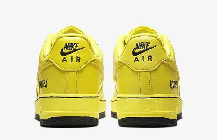 Gore-Tex Nike Air Force 1 Low Yellow CK2630-701 05