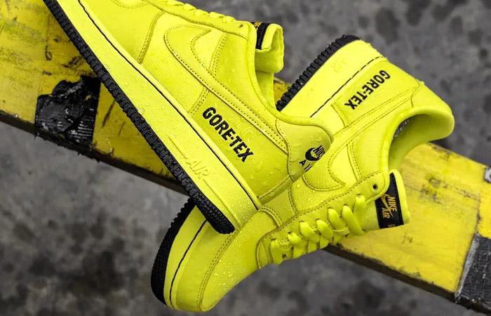 Gore-Tex Nike Air Force 1 Low Yellow CK2630-701 06