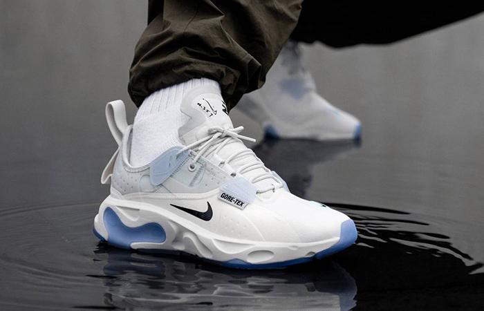 Gore-Tex Nike React N.354 Sail BQ4737-002 on foot 01